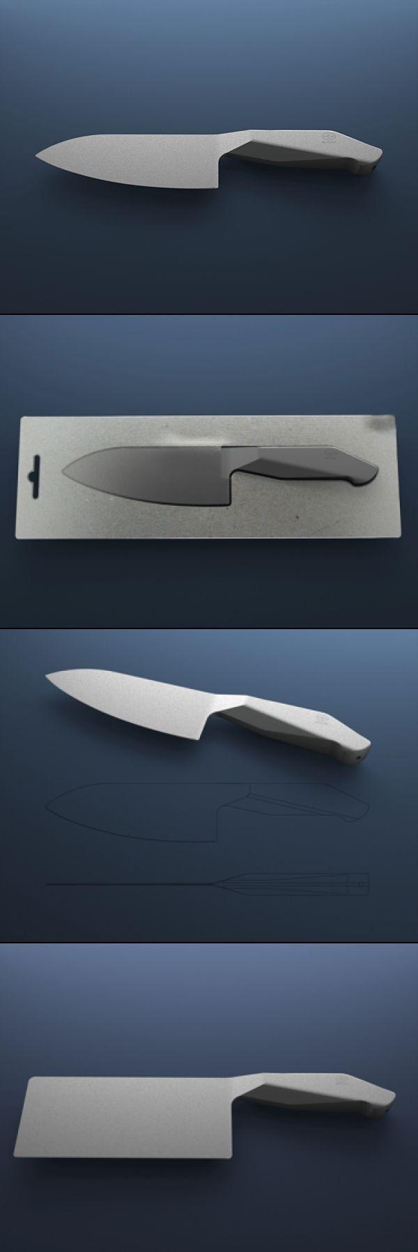 PRO TEFLON KNIFE SET BY BRUNO FOSI