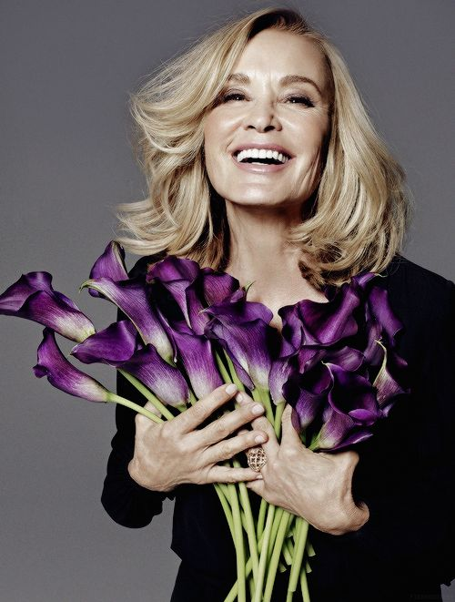 Jessica Lange for ELLE Magazine.