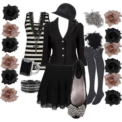 Polyvore gothic Outfits | Gothic Clothing Stores on Everyday Goth Part 3 By Cupcakegoth