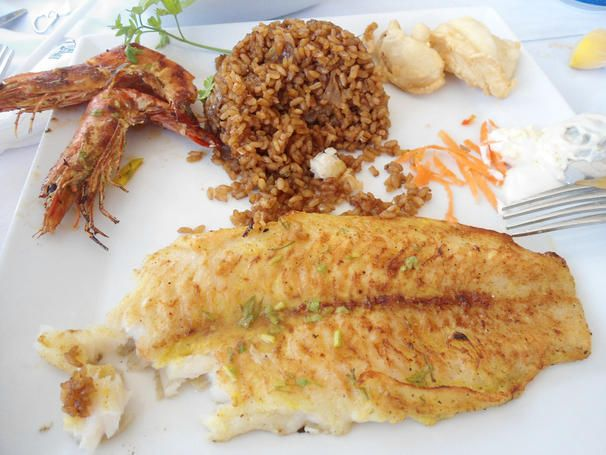 Comida em Alexandria - Egito