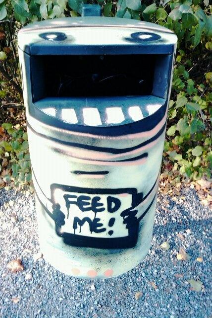 carbage disposal art