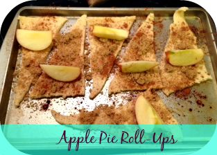 #Easy #Apple #Pie Roll-Ups #Recipe