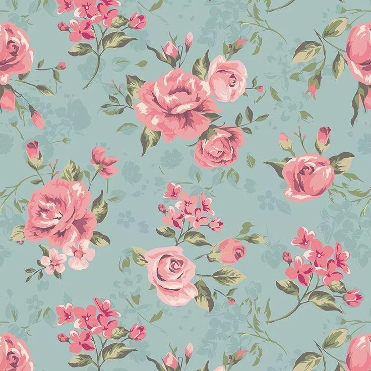 Papel De Parede Floral Rosas Contact - Lavável - Vinílico - R$ 55,90 em Mercado Livre