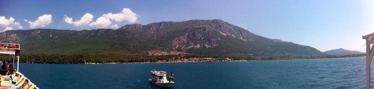 Akyaka panoramic view