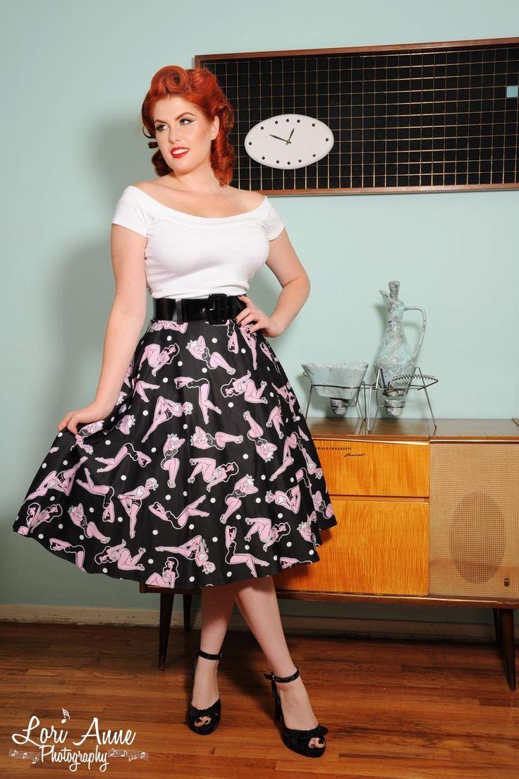 Vintage Pinup Girl Clothing