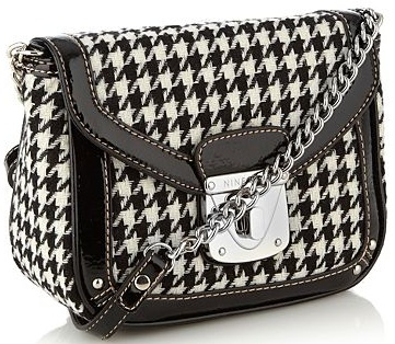 [Nine West / Debenhams bag] I'm not a very 60s person, houndstooth is about the only concession to that era I can make!