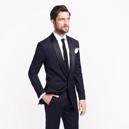 Ludlow shawl-collar tuxedo jacket with double vent in Italian wool - tuxedos - Wedding's Groom & Groomsmen - J.Crew