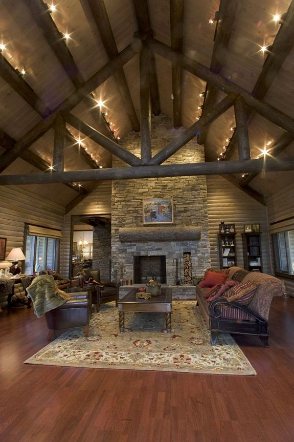 Best 25 rustic house plans ideas on pinterest for Open floor plans with vaulted ceilings