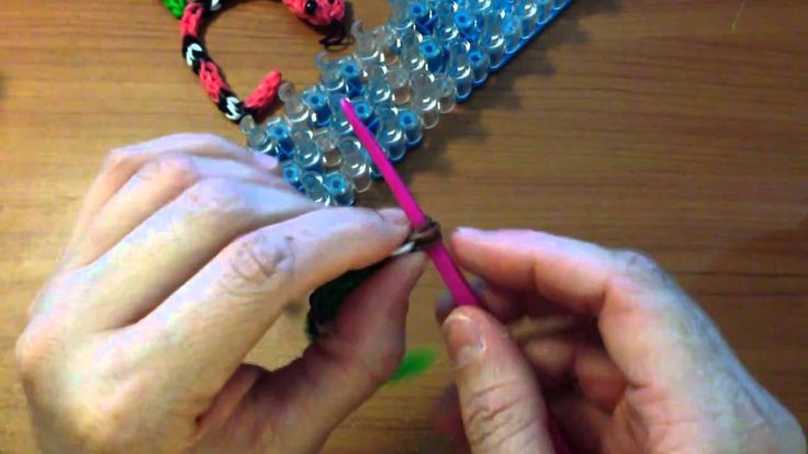Loom Bands Rattle Snake Charm Instructions