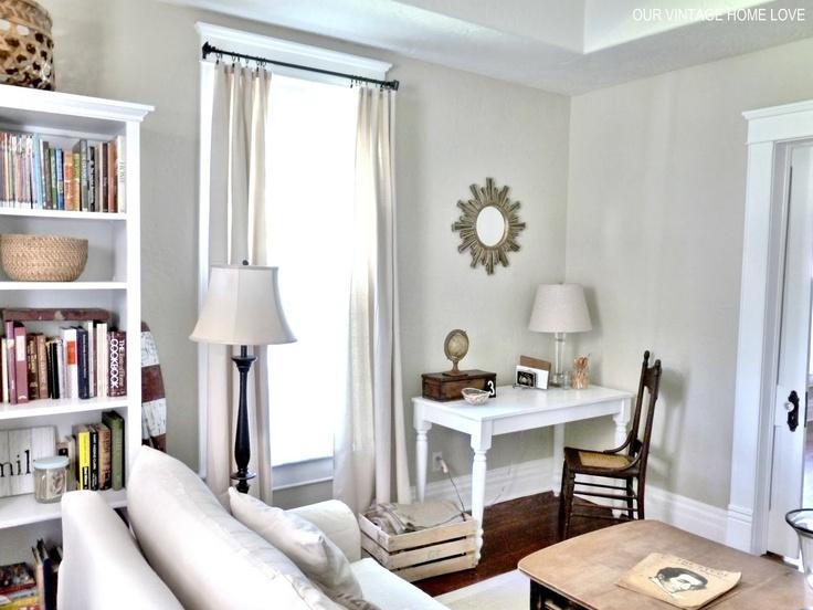 37 best Living room \/office combo images on Pinterest Home - desk in living room