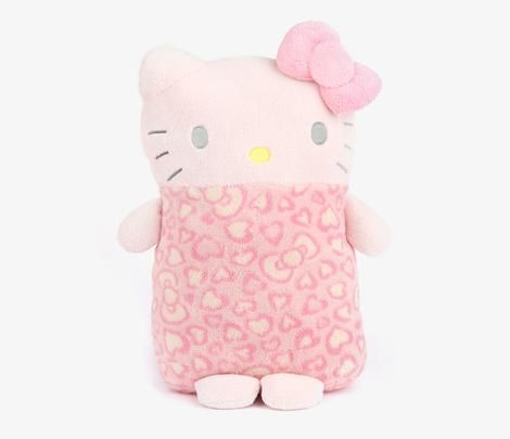 hello kitty mini cushion hearts bows hello kitty. Black Bedroom Furniture Sets. Home Design Ideas