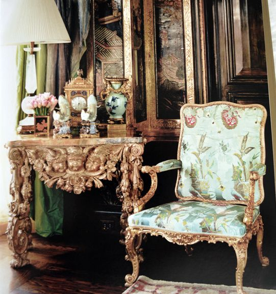 Ann Getty: Interior Style, by Diane Dorrans Saeks, is a beautiful book  filled with tons of inspiring images of Ann Getty's work