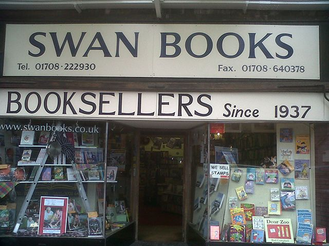 Swan Books, Upminster, Essex.