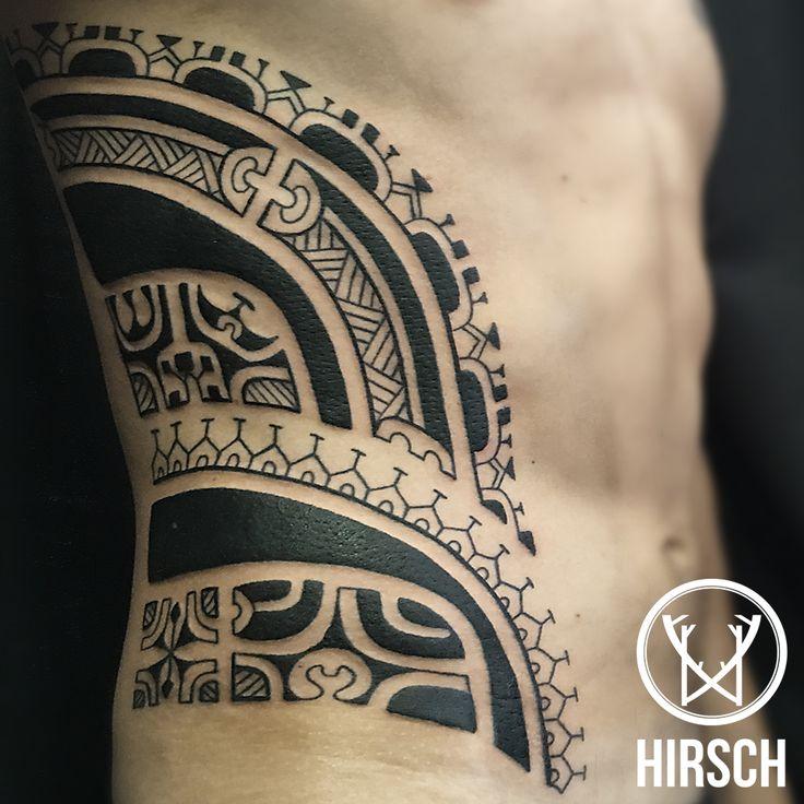 maori, tribale, polinesiano, tattoo, tatuaggio, tatuaggio fianco