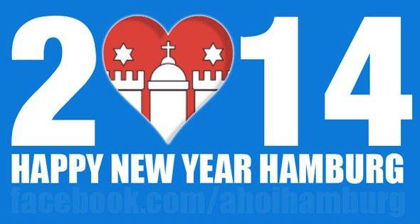 Guten Rutsch und ein glückliches neues Jahr Hamburg! ;) #hamburg #silvester #neujahr #2014
