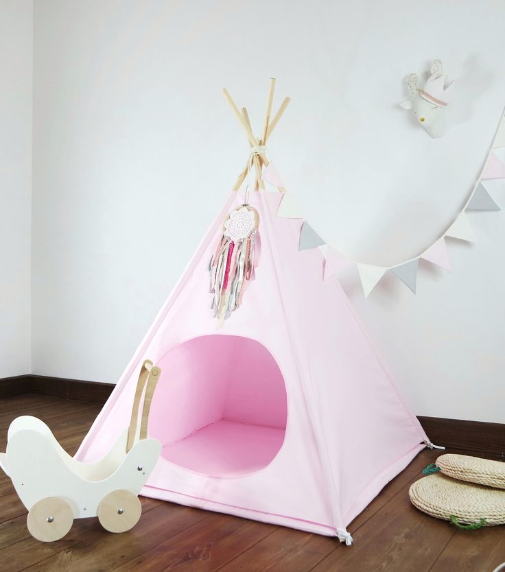 Children's teepee, playtent, tipi, zelt, wigwam, kids teepee, tent, play teepee, high quality wigwam with mat by Minukids on Etsy