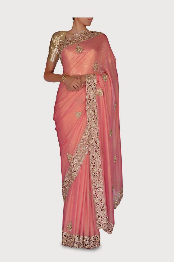 Fashion: Summer Hues A Sigh of Colours Chic Saris 2014
