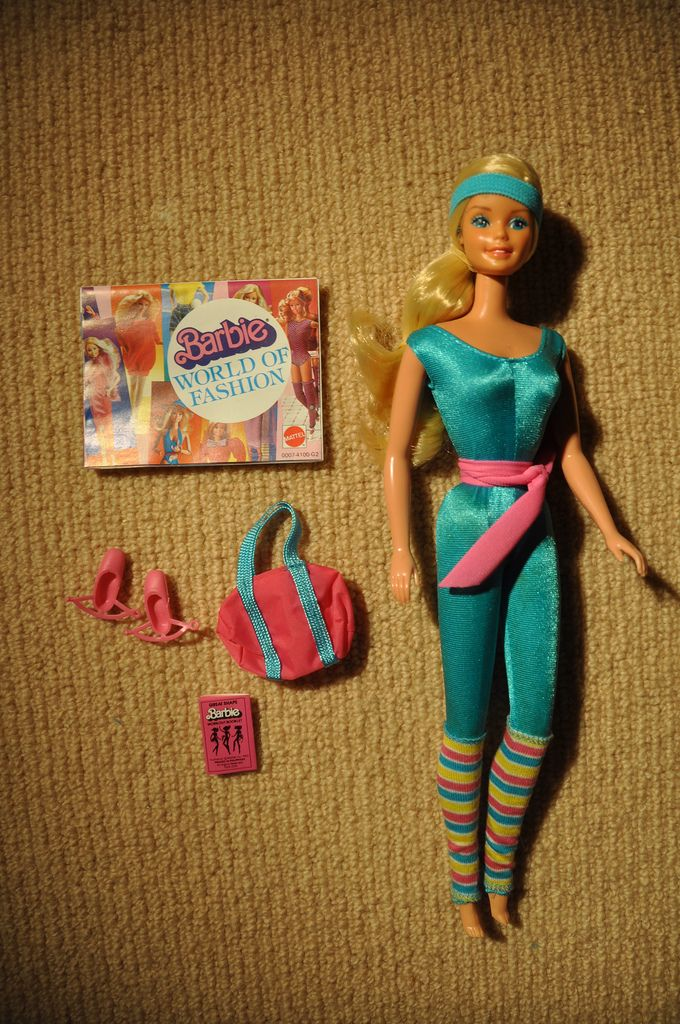 Great Shape Barbie My very first Barbie, made in 1984 & brought back again in Toy Story 2.