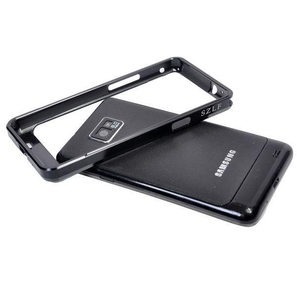 Samsung Galaxy S2 Alumiininen Suojakehys (Musta)