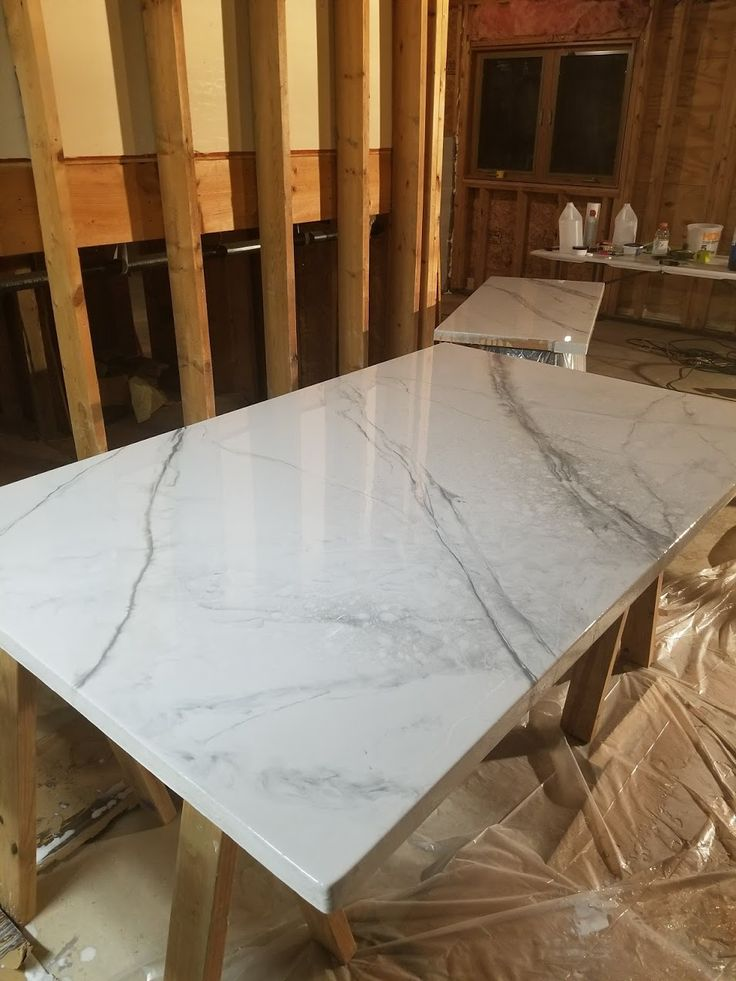 Diy marble countertops using epoxy leaving a light on in