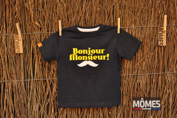 Bonjour Monsieur Moustache 2. Free shipping worldwide and please go to our website www.momes-store.com and LIKE us on Facebook www.facebook.com/momesstore