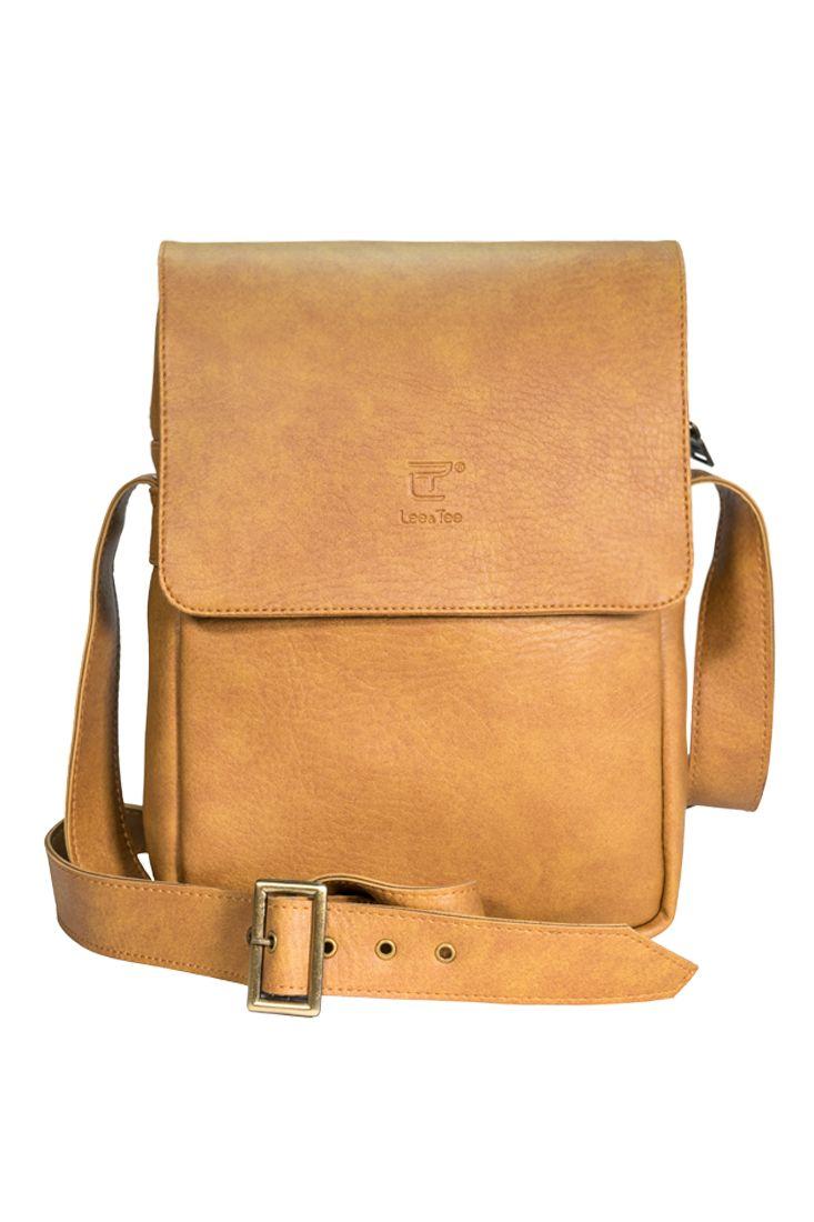 Túi đeo chéo Renew màu Lợt - Thương hiệu Lee&Tee