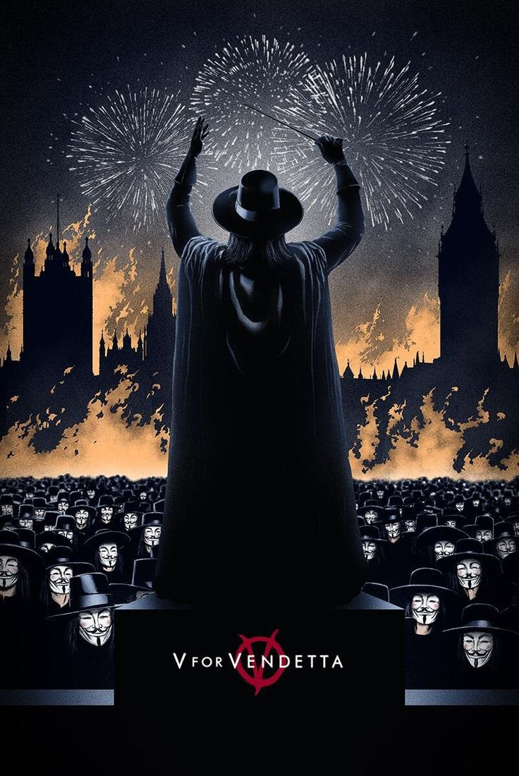V for Vendetta -This movie is brilliant.