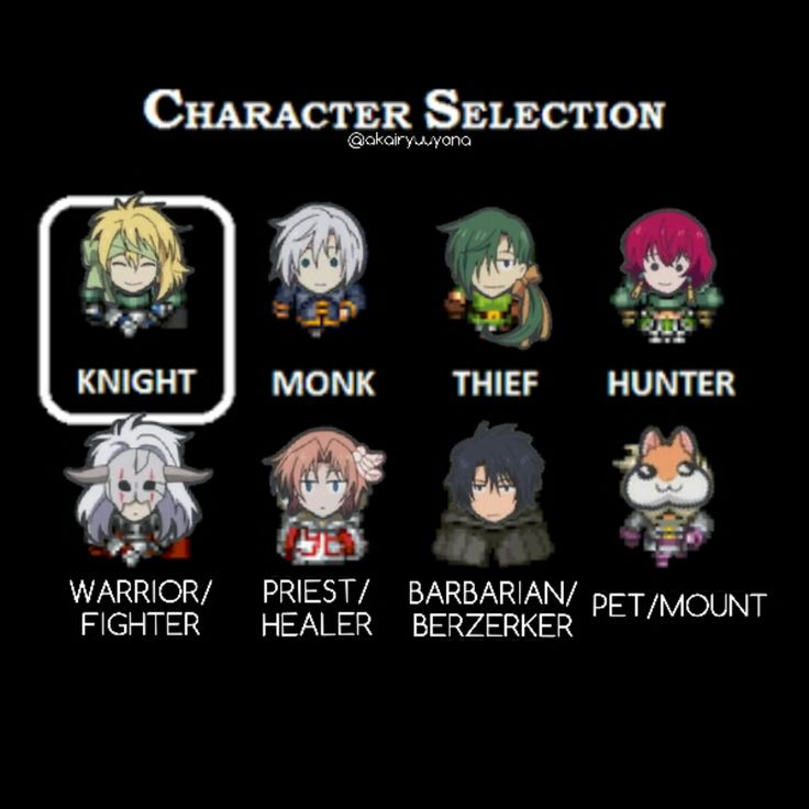 If The Dark Dragon and The Happy Hungry Bunch were at a role-playing game! • Warrior / Fighter: Shin-Ah • Knight / Paladin: Zeno • Barbarian / Berzerker: Hak • Monk / Martial Artist: Kija • Archer / Ranger: Yona ((Obviously.)) • Thief / Rogue / Assassin: Jae-Ha • Priest / Healer: Yoon • Pet / Mount: Ao File Usage: © http://www.giantbomb.com/classes/3015-405/ © https://rpgmaker.net/media/content/users/34212/locker/052_SMALL.png #manga #anime #akatsukinoyona #yonaofthedawn #roleplayinggame