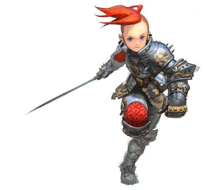 Charging warrior