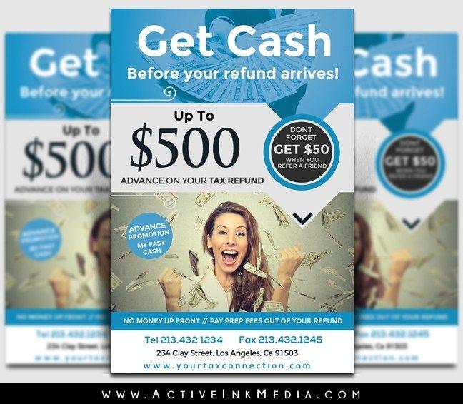 Tax Refund Flyer Template Flyer Template Tax Refund Flyer
