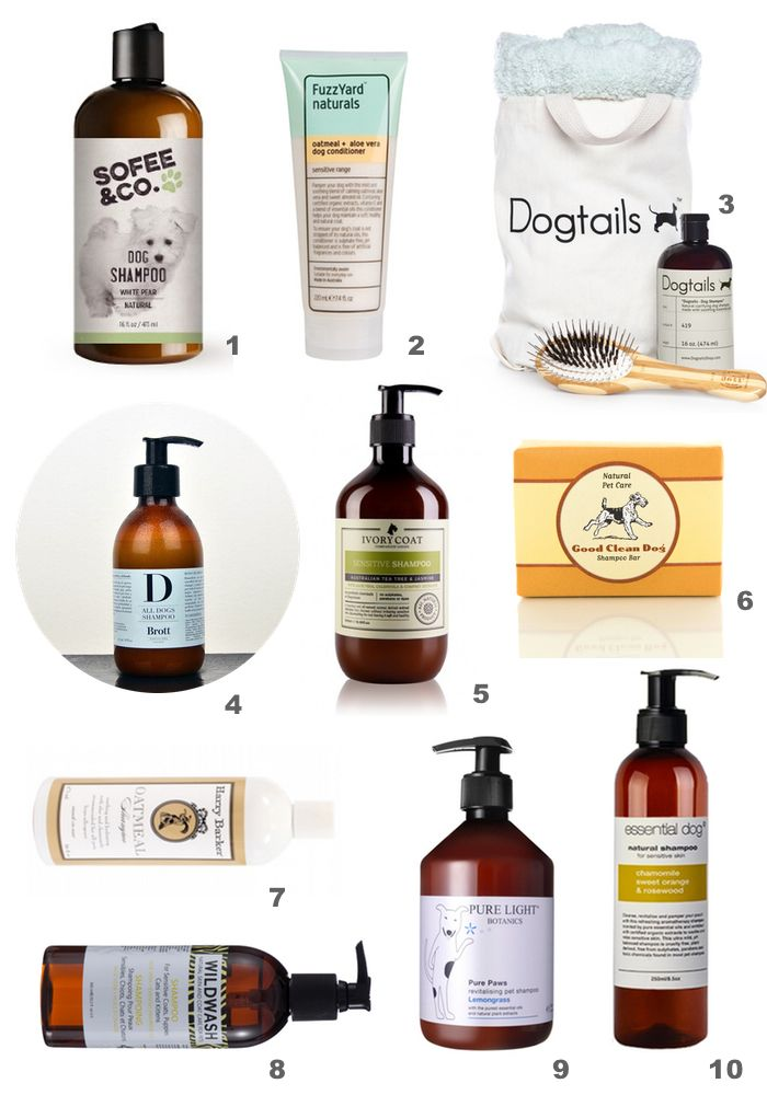 10 gentle and natural dog shampoos for sensitive skin #dogs #dog #grooming