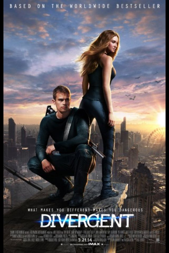 Divergent Movie poster!! So excited for this!!!!!