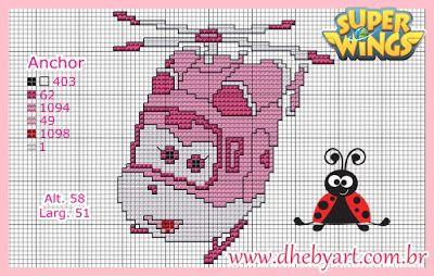 Dhebyart: Dizzy - Super Wings