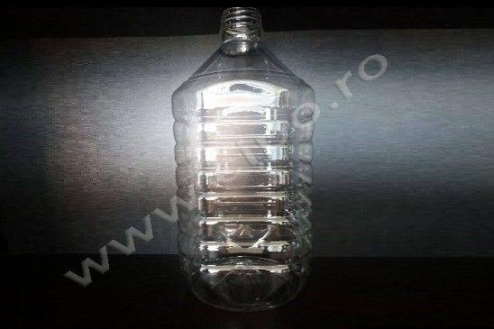 PET 5 litri - Producator flacoane PET apa minerala si plata, lapte, ulei, si preforme PET.