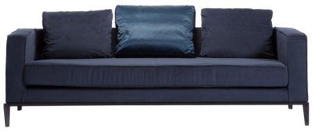 Метки: Маленькие диваны.              Материал: Металл, Ткань.              Бренд: DG Home.              Стили: Скандинавский и минимализм.              Цвета: Синий.