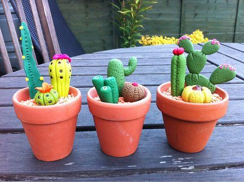 Polymer clay cactus for my mum | My mum loved my original ca… | Flickr