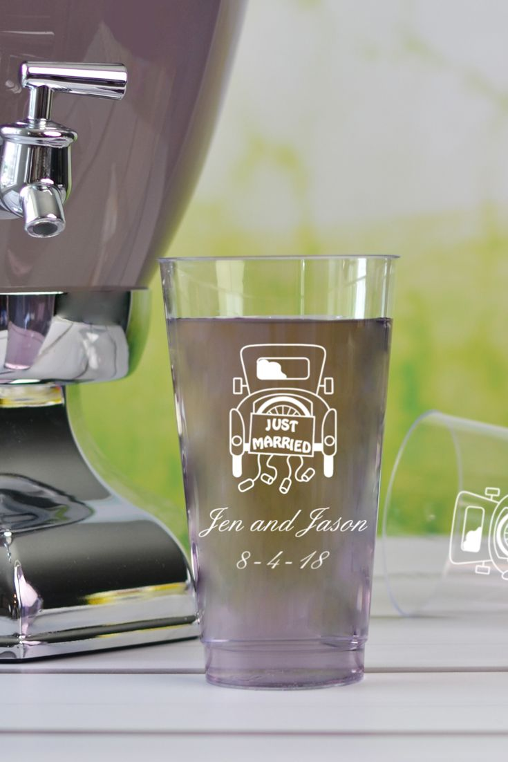 Glass juice cups design - 16 Oz Custom Printed Disposable Clear Plastic Cups Set Of 50