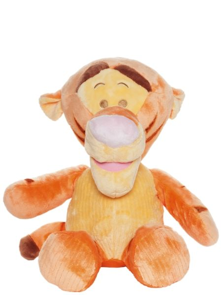 Herttainen, pastellisävyinen Tiikeri-pehmo on pikkuihmisen turvallinen luottokaveri. Sitä kelpaa rutistaa ilon hetkellä, ja kurjankin päivän pehmeä ystävä pelastaa. Käsinpesu. Korkeus n. 50 cm.