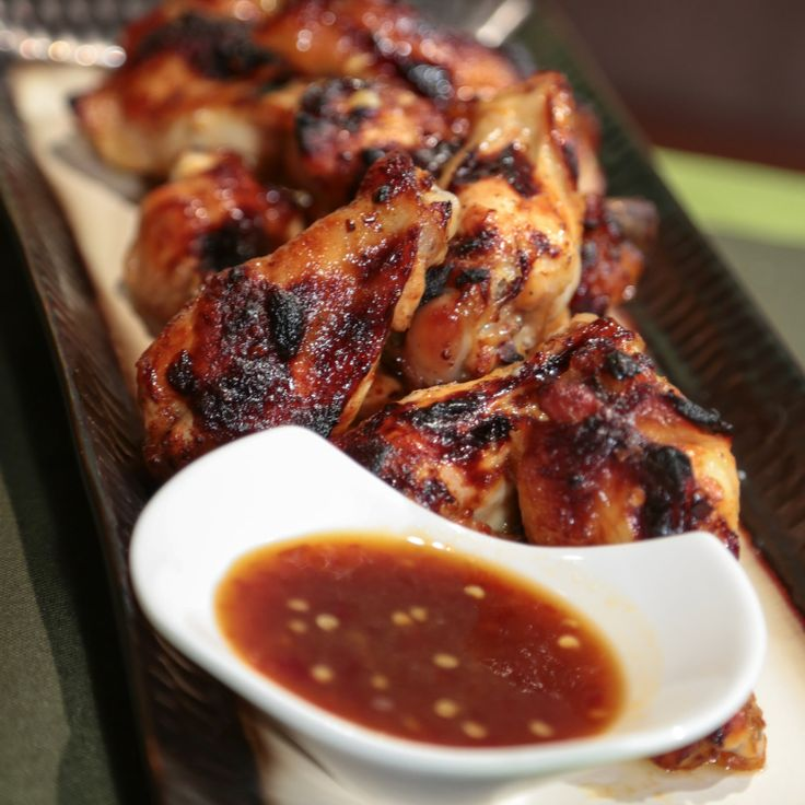 Daphne Oz's Sweet And Spicy Baked Chicken Wings Marinate overnight for ...