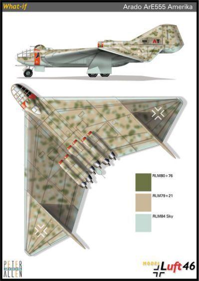 Peter Allen's Luft '46 Aircraft
