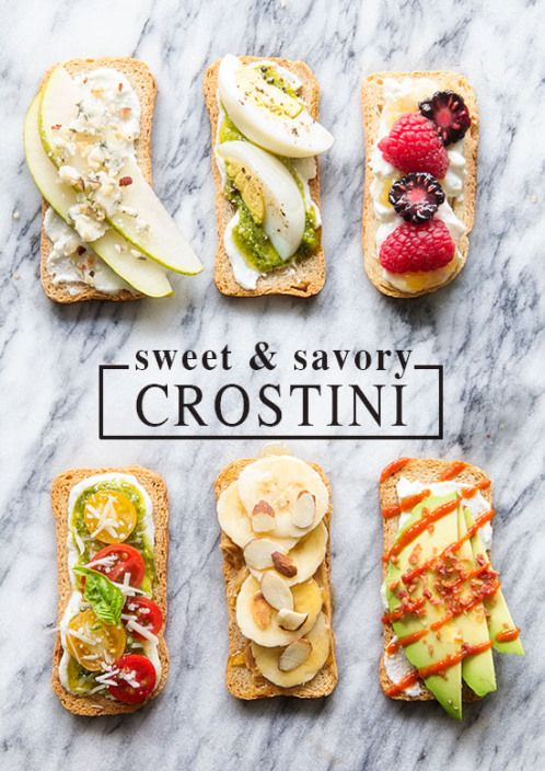 Sweet & Savory Crostini