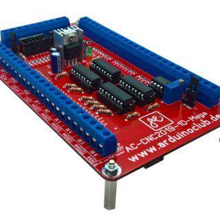 ESTLCAM Steuerkarte mit Arduino Mega und Handsteuerung