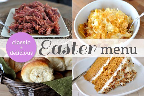 My Easter Dinner Menu + Other Easter Favorites | Mel's Kitchen Cafe