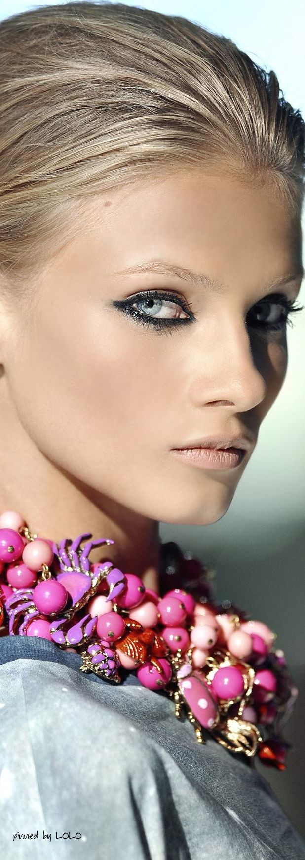 Anna Selezneva for Just Cavalli Spring 2009 via Whatever You Want Tumblr (Elsie RC)