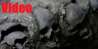 Πύργος από ανθρώπινα κρανία ανακαλύφθηκε στο Μεξικό (video)