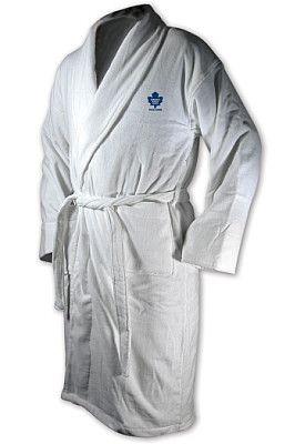 McArthur Toronto Maple Leafs Personalized Robe - Shop.Canada.NHL.com