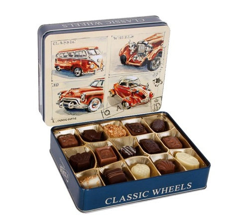 These delicious Belgian Truffles could be the perfect gift for you Dad on Father's Day!