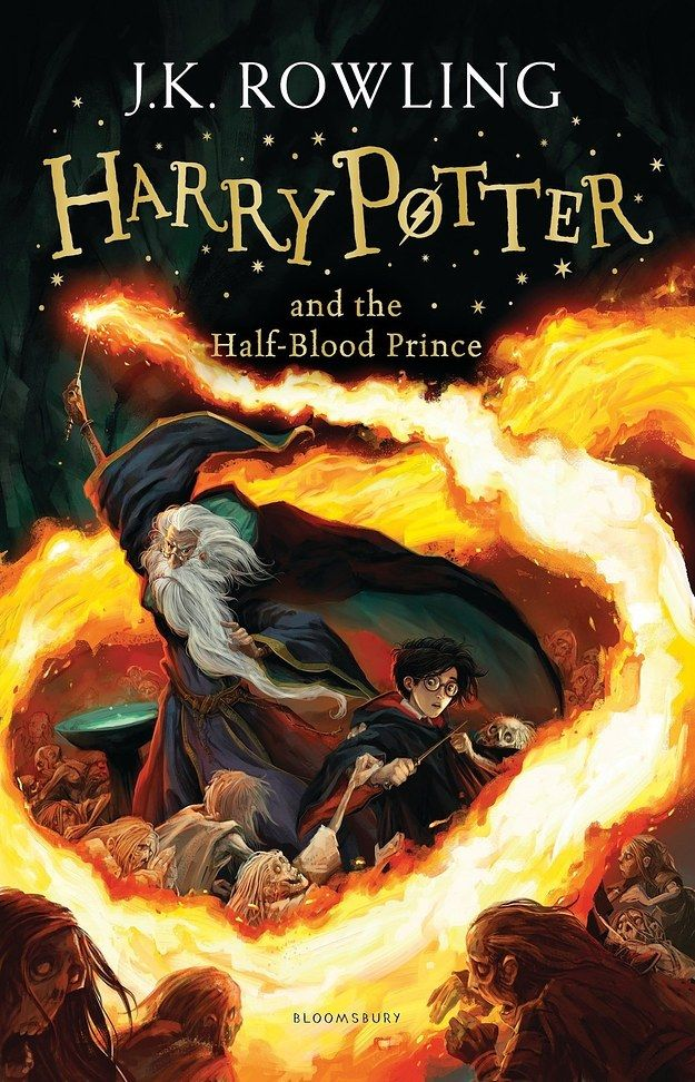 "Harry Potter and the Half-Blood Prince: | 7 New Must-See ""Harry Potter"" Covers (personal note...cool looking Dumbledore)"
