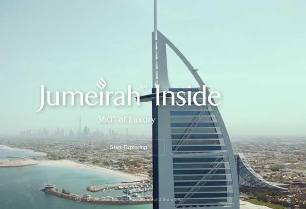 Usuarios podrán hacer recorrido virtual del Hotel Burj al Arab de Dubai