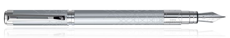 Waterman Perspective Fountain Pens in Silver CT
